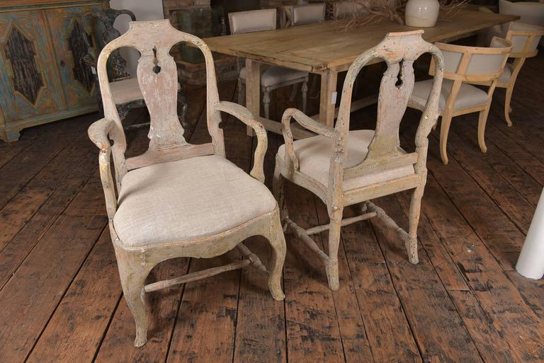 Swedish Rococo Chairs 9