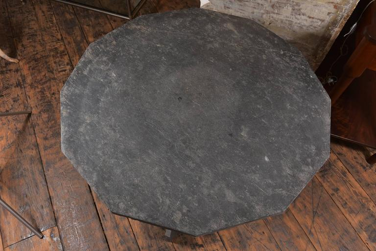Mid-20th Century Slate Side Table For Sale