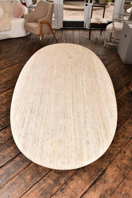 French Travertine Table 4