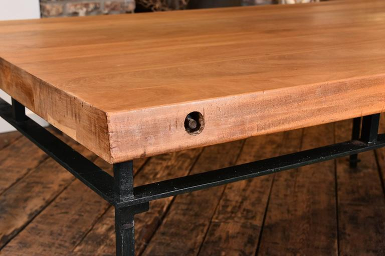 French Refectory Table In Excellent Condition For Sale In Houston, TX