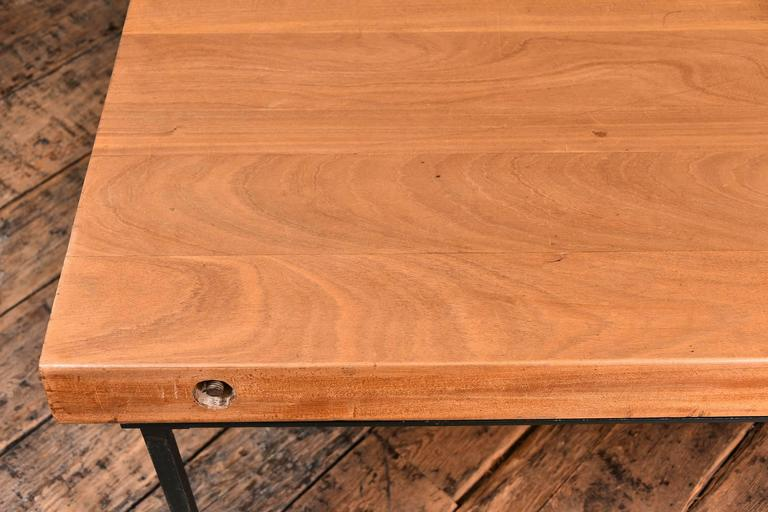 Mid-20th Century French Refectory Table For Sale