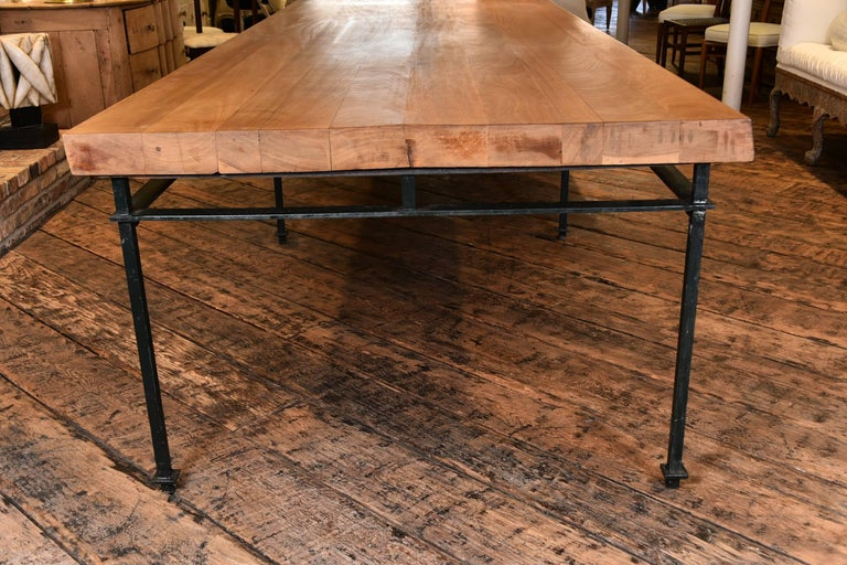 French Refectory Table For Sale 1