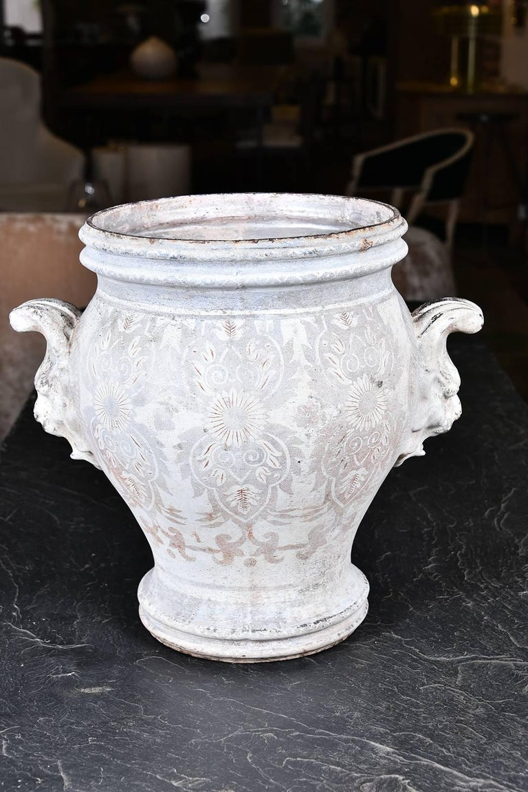 Pair of Rouen Urns 2