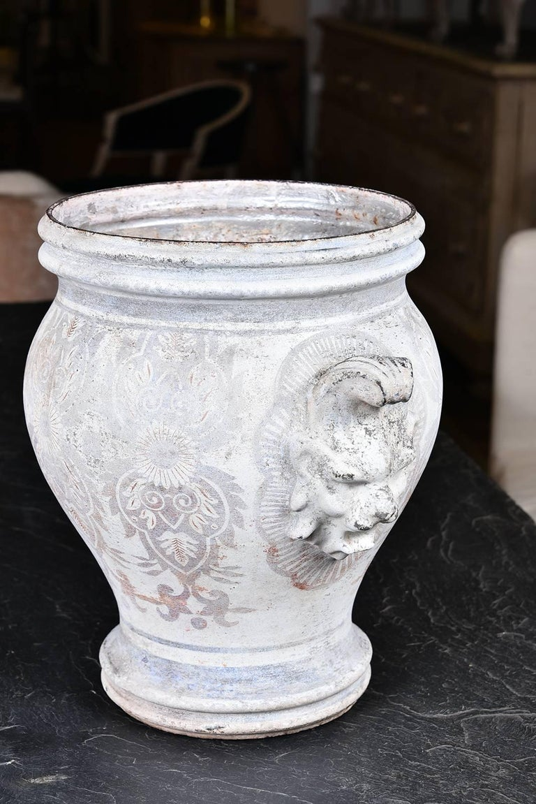 Pair of Rouen Urns In Good Condition For Sale In Houston, TX
