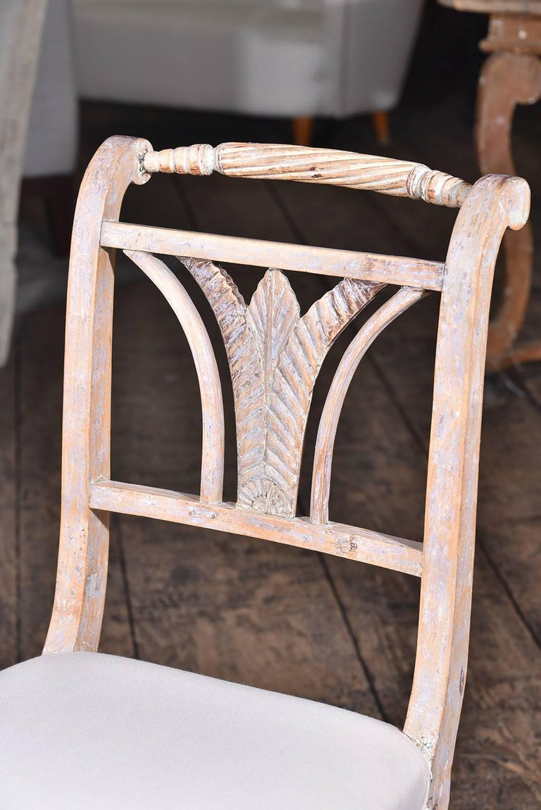 Gustavian Swedish Dining Chairs For Sale