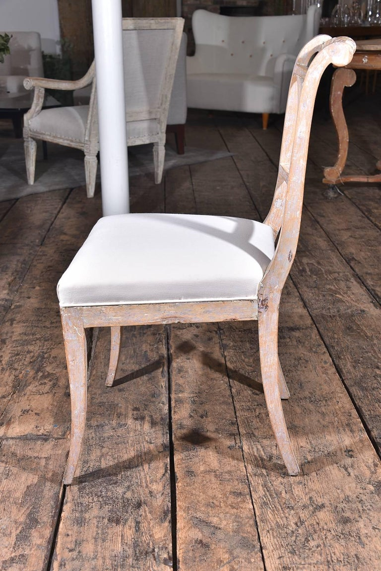 19th Century Swedish Dining Chairs For Sale