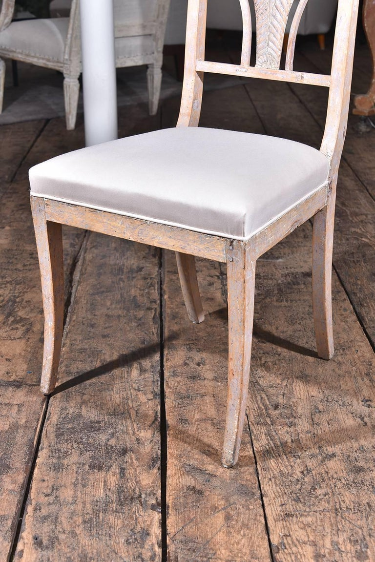 Swedish Dining Chairs In Excellent Condition For Sale In Houston, TX