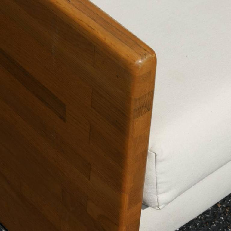 Vintage Jerryll Habegger Butcher Block Sofa Couch At 1stdibs