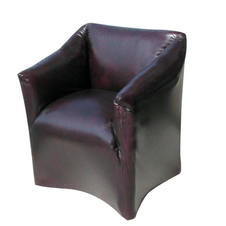 Pair Cassina Mario Bellini Tentazione Lounge Armchairs