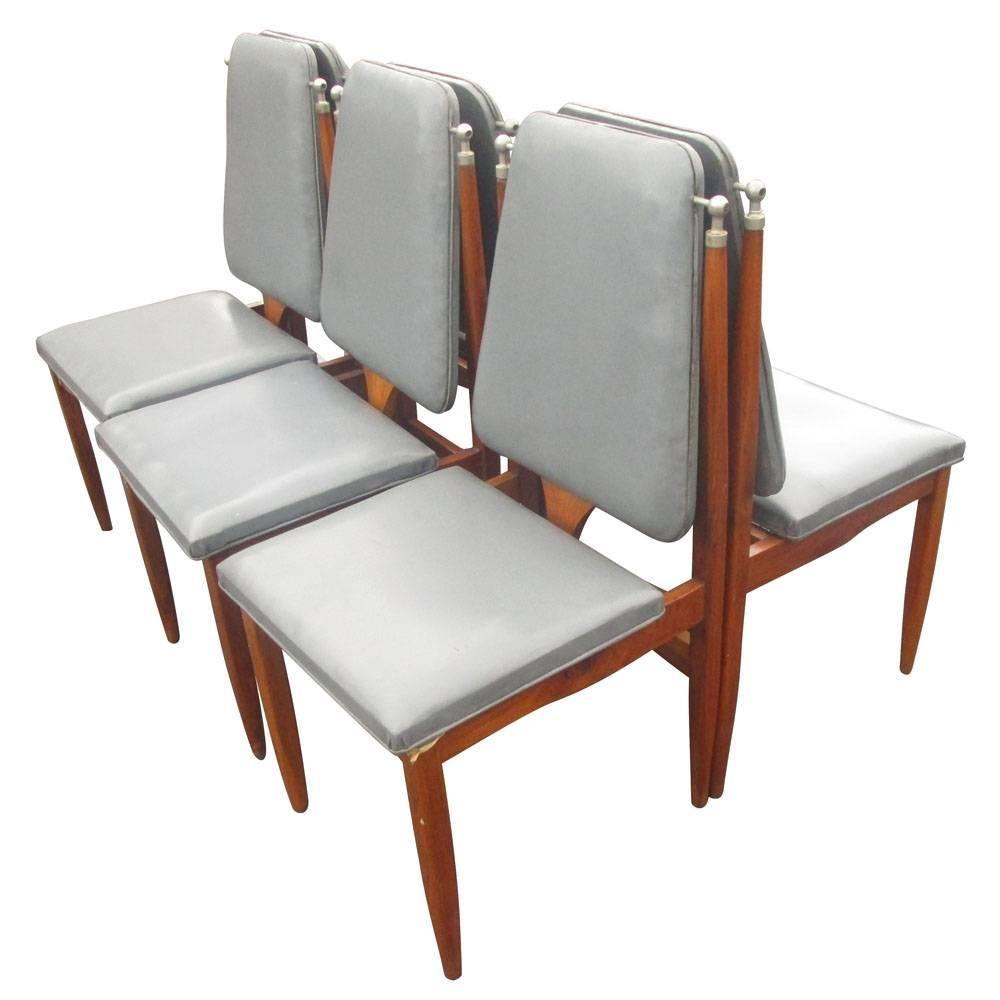 Vintage Six '6' Italian Dining Chairs