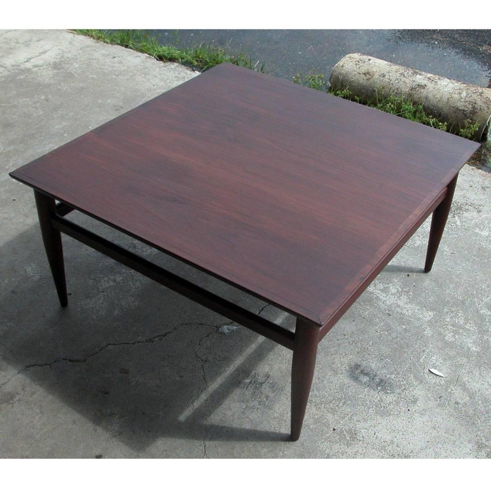 Vintage Mid Century Modern Small Coffee Table Cocktail: Vintage Mid-Century Henredon Heritage Coffee Table For