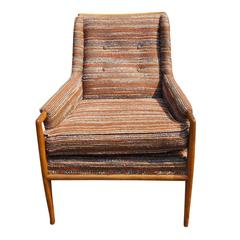 Vintage T.H. Robsjohn-Gibbings Lounge Armchair
