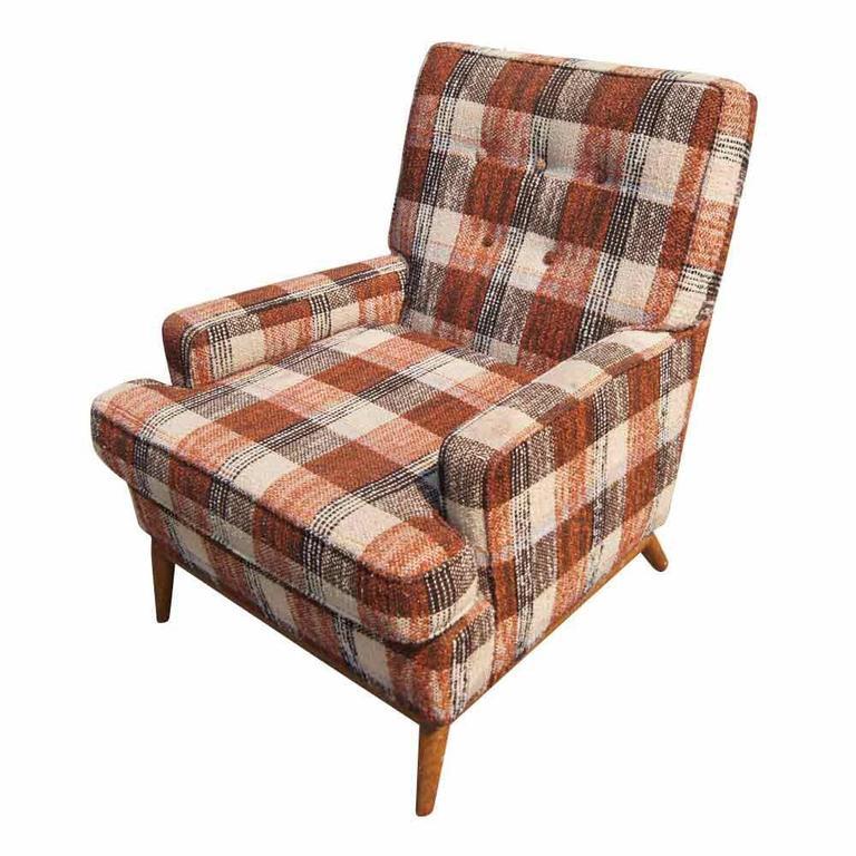 Vintage T.H. Robsjohn-Gibbings for Widdicomb Lounge Armchair For Sale