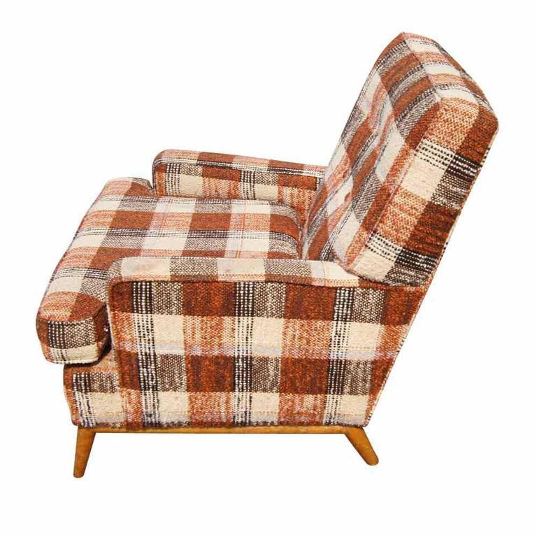 Mid-Century Modern Vintage T.H. Robsjohn-Gibbings for Widdicomb Lounge Armchair For Sale
