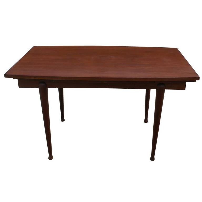vintage danish mahogany dining extension table for sale at 1stdibs