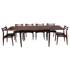 Vintage Danish Teak Extension Table