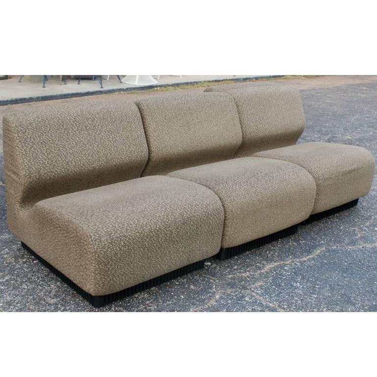 Mid Century Modern Vintage Herman Miller Don Chadwick Sofa For Sale
