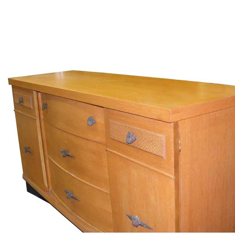 restored stanley harmony house buffet credenza for sale at