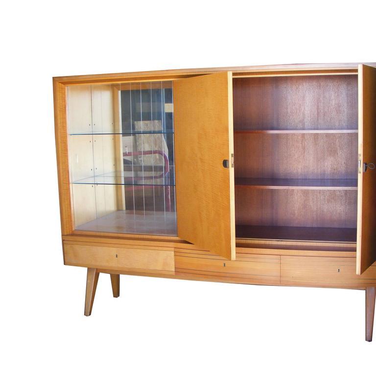 German Kitchen Cabinets: Vintage German Mid-Century Cabinet German Shrunk At 1stdibs