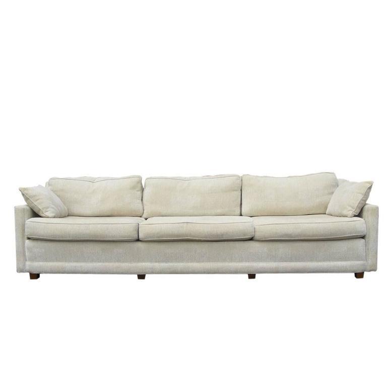 Mid Century Baker Low Profile Sofa