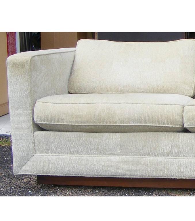 Vintage Mid Century Milo Baughman Thayer Coggin Sofa For Sale At 1stdibs