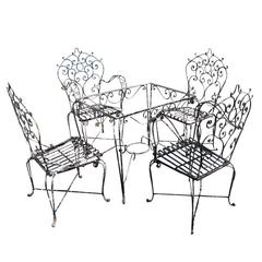 Vintage Patio Outdoor Set
