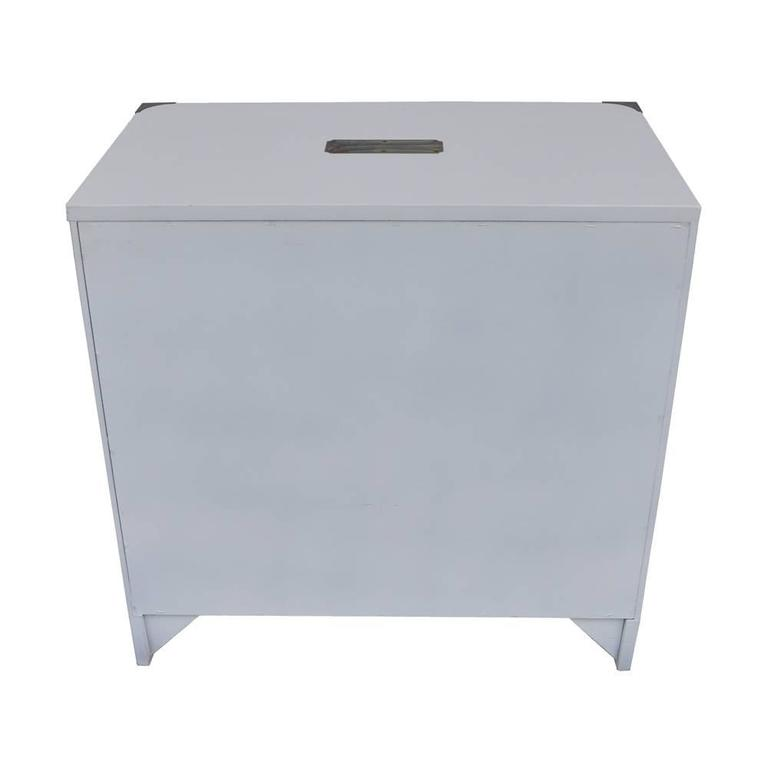 Mid-Century Modern Vintage Mid-Century Lane Campaign Small Dresser or Nightstand For Sale