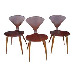 Norman Cherner Plycraft Side Dining Chair