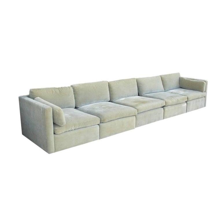 Vintage Mid-Century Knoll Pfister Sofa For Sale