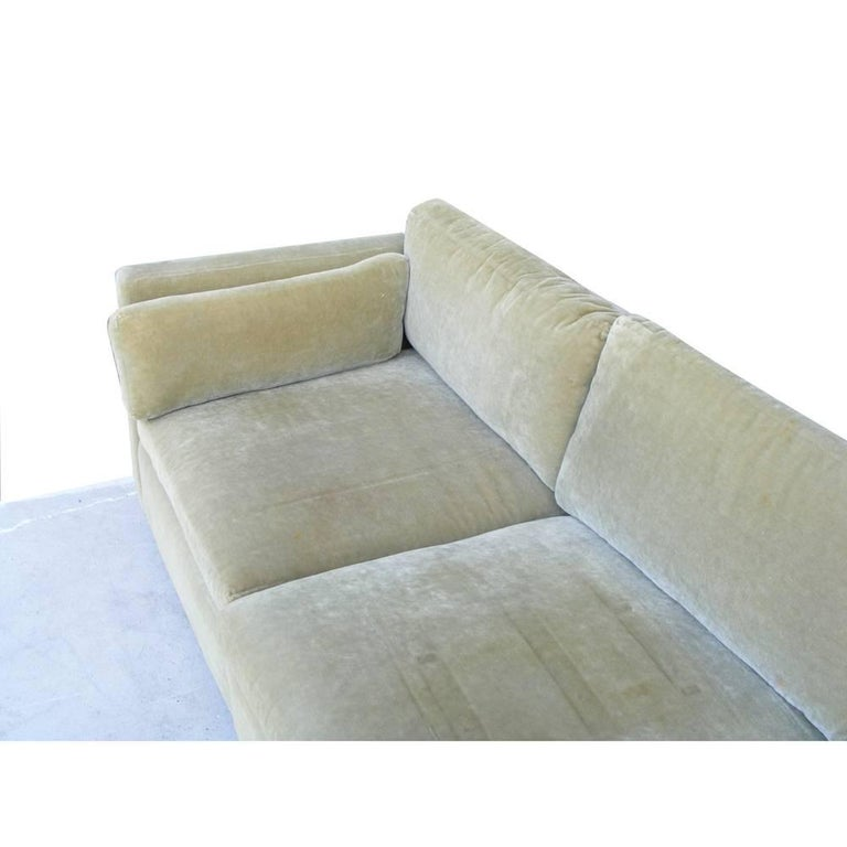 Vintage Mid-Century Knoll Pfister Sofa In Good Condition For Sale In Pasadena, TX