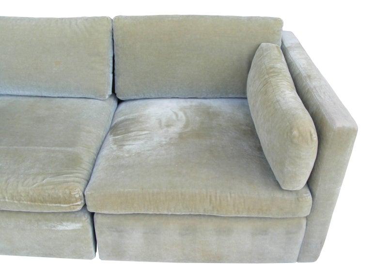 Late 20th Century Vintage Mid-Century Knoll Pfister Sofa For Sale