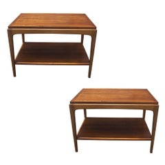 Pair of Vintage Mid Century End Tables
