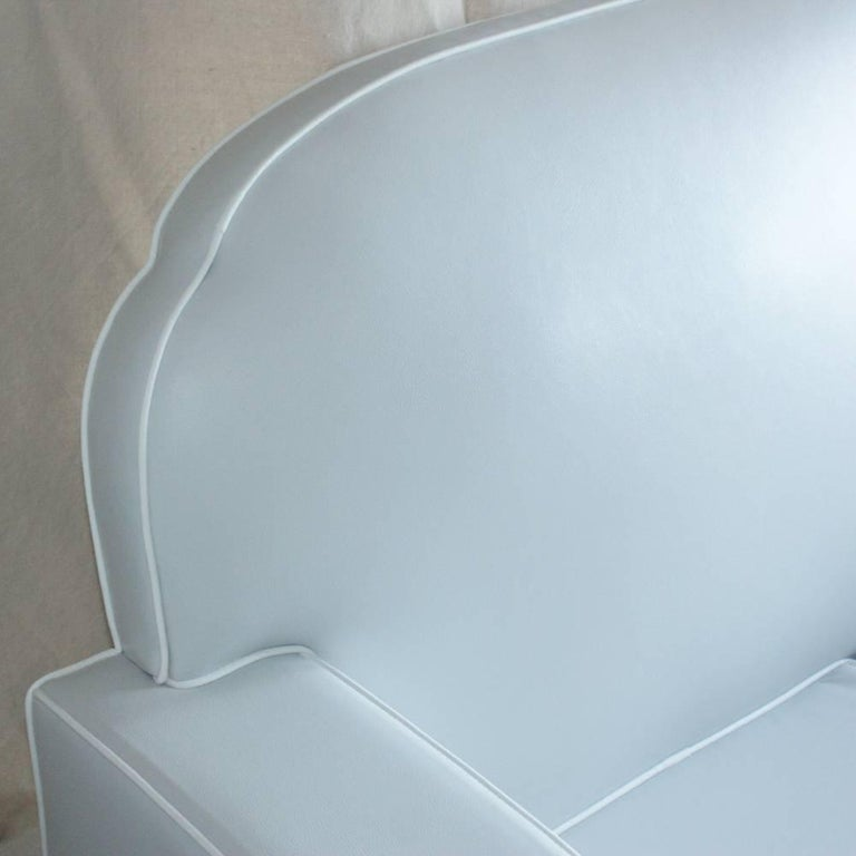 1930s Art Deco Loveseat Settee In Excellent Condition For Sale In Pasadena, TX