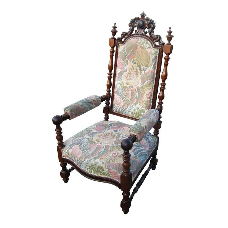 Vintage Looking Chairs: Vintage Victorian Style Chair For Sale At 1stdibs