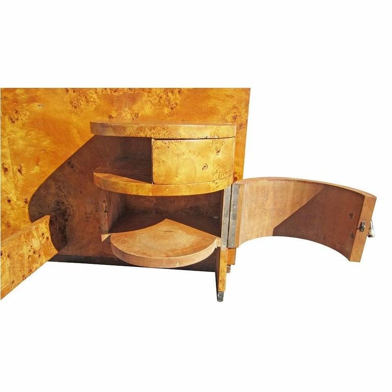 Vintage 1920s-1930s Italian Art Deco Bed For Sale 1