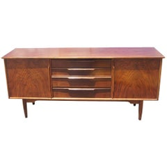 Mid-Century Modern Rosewood Credenza Sideboard Buffet