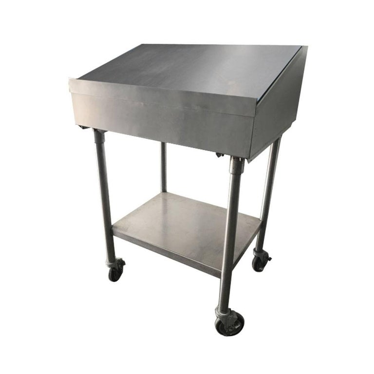 Industrial Factory Stainless Steel Standing Desk
