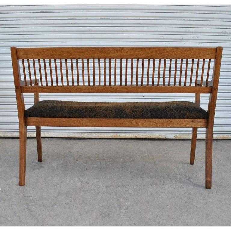 Mid-Century Modern Vintage Midcentury Drexel John Van Koert Profile Series Bench For Sale