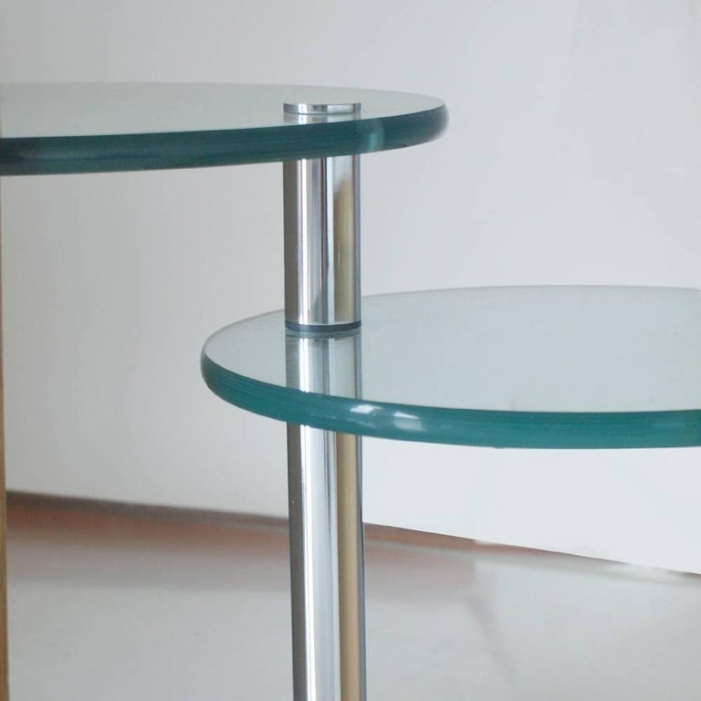 Jay Spectre Occasional Two Level Table In Good Condition For Sale In Pasadena, TX
