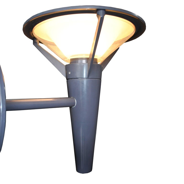 Pair of Urban Kipp Outdoor Wall Sconce by Alfred Homann for Louis Poulsen In Good Condition For Sale In Pasadena, TX