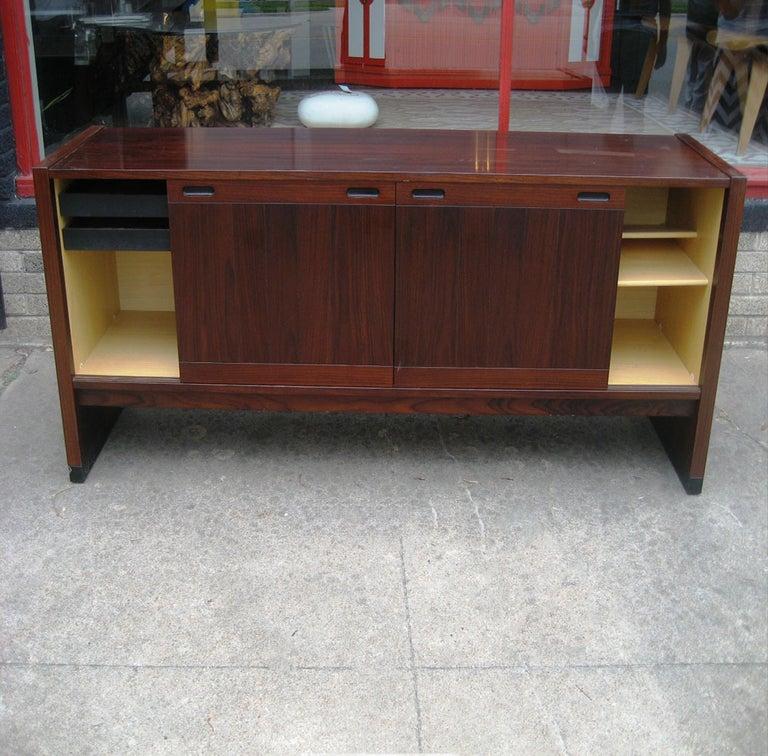 Mid-20th Century Vintage Mid-Century Modern Dyrlund / Drylund Rosewood Credenza For Sale