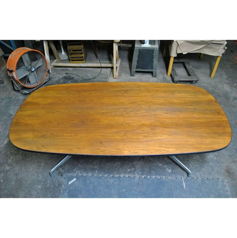 American Mid Century Eames Herman Miller 7ft Walnut Conference Table SALE For Sale