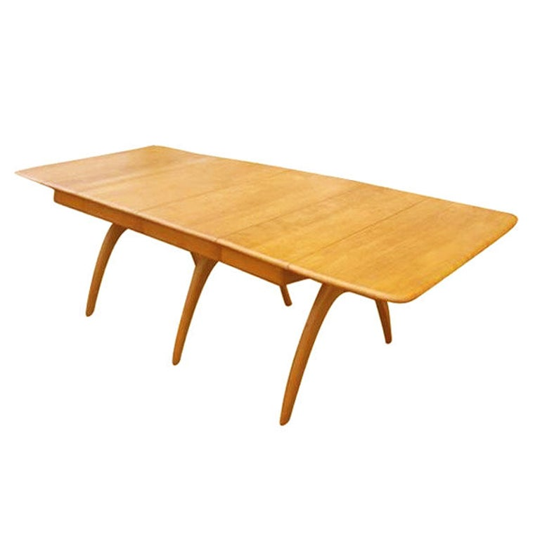 Heywood Wakefield Butterfly Dining Table For Sale