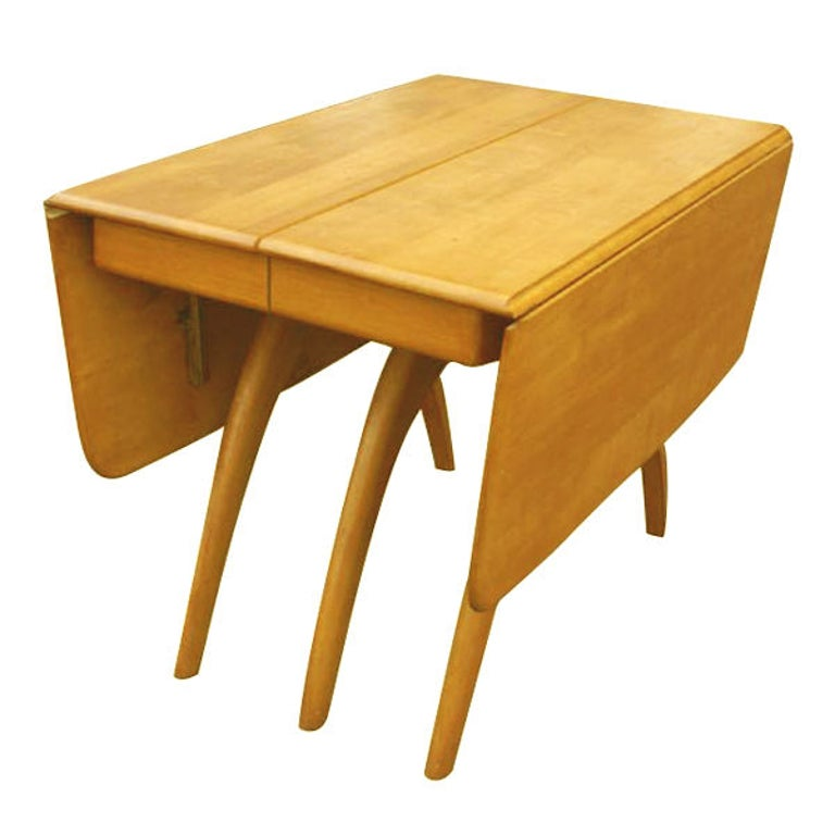 Mid-Century Modern Heywood Wakefield Butterfly Dining Table For Sale