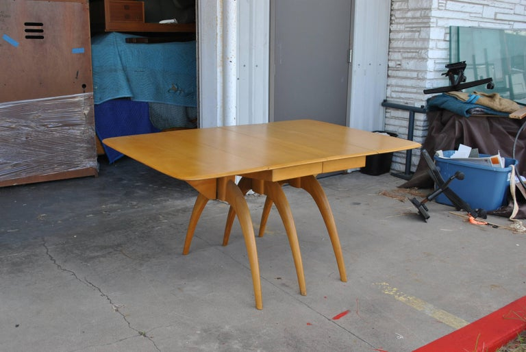 American Heywood Wakefield Butterfly Dining Table For Sale