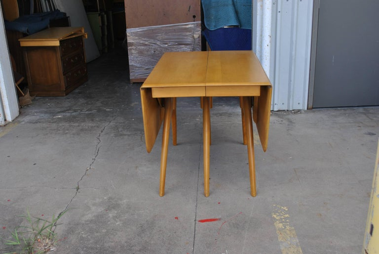 Birch Heywood Wakefield Butterfly Dining Table For Sale