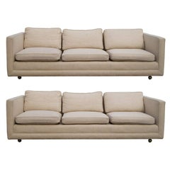 1 Midcentury Sofa in the Manner of Edward Wormley