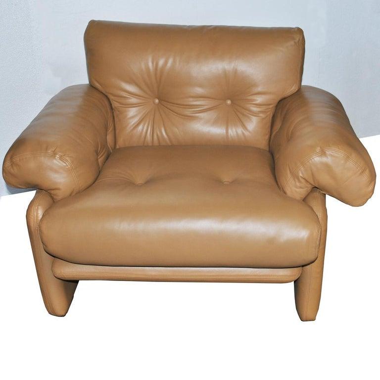 Mid-Century Modern Tobia Scarpa for B&B Italia Coronado Lounge Chair For Sale