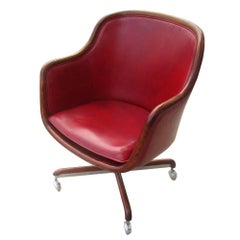 One Vintage Midcentury Ward Bennett Brickel Executive Chair