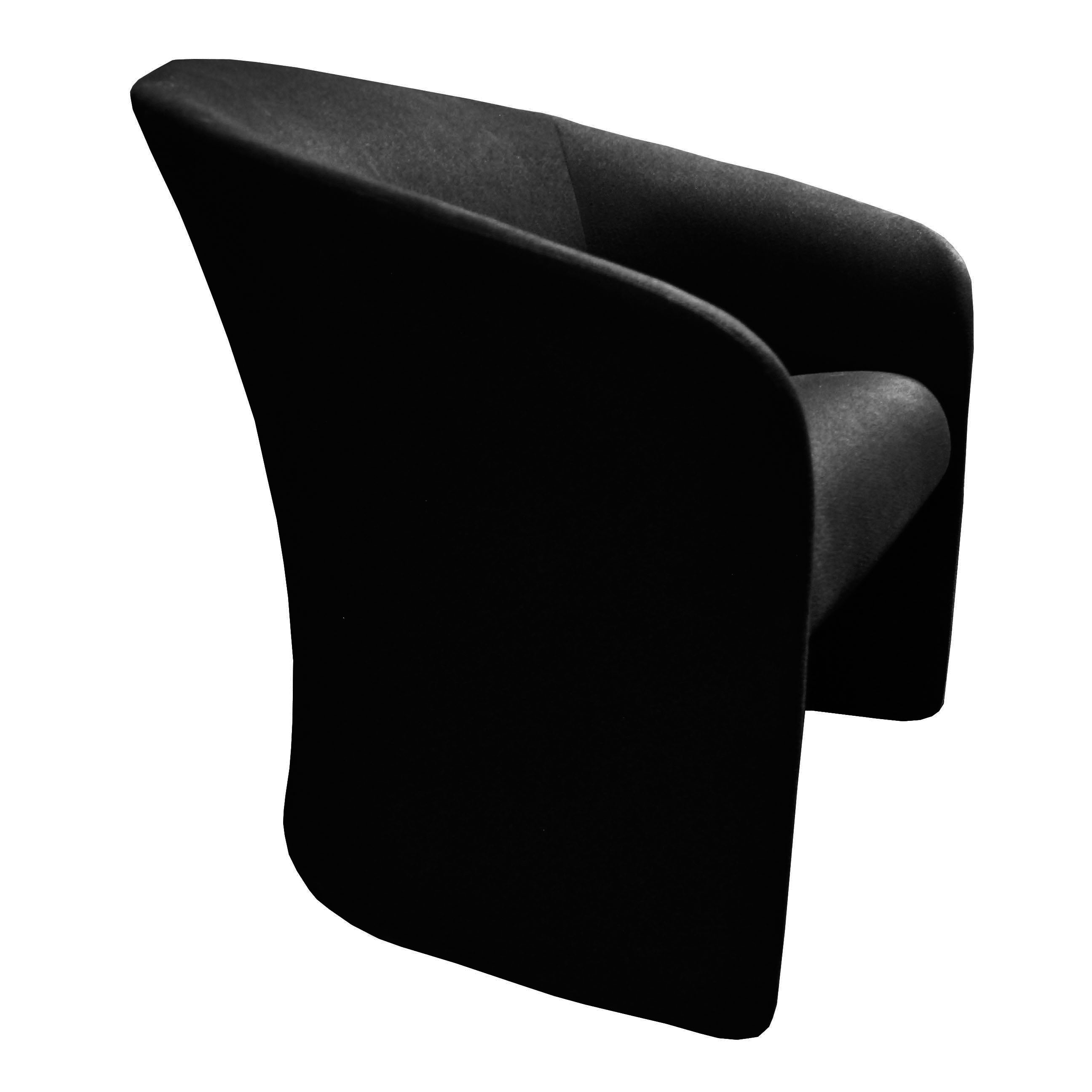Club Lounge Chair by Massimo and Lella Vignelli